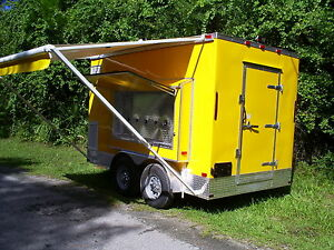 Refrigerated Beer Draft Cold Service Trailer