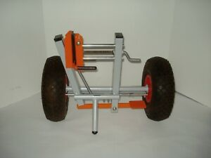 Drywall Sheet Door Panel Material Handling Moving Adjustable Clamp Cart Dolly
