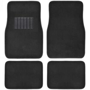 Classic Carpet Floor Mats For Car Auto Universal Fit Front Rear With Heelpad
