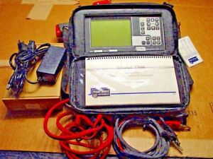 Riser Bond 3300 Tdr Cable Fault Locator Reflectometer New Battery Ready To Use