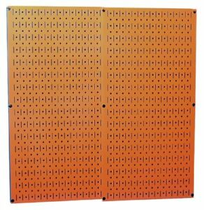 Wall Control 30 p 3232or Orange Metal Pegboard Pack