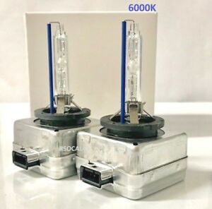 2new Oem D1s 66144 66140 85415 85410 6000k Xenon Hid Headlight Lamps Bulbs 2pcs