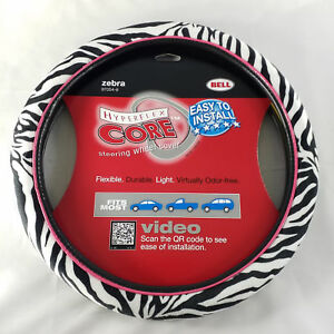 Bell Hyperflex Zebra Steering Wheel Cover Fits Most Cars Trucks Suvs