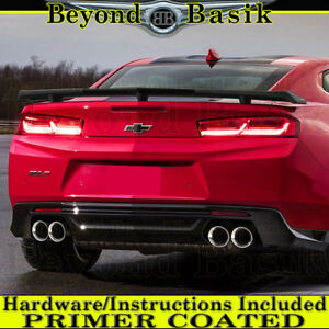 2016 2017 2018 2019 Chevy Camaro Zl1 Factory Style Spoiler Trunk Wing Primer