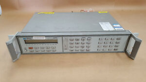 Hewlett Packard 3488a Switch control Unit With Modules