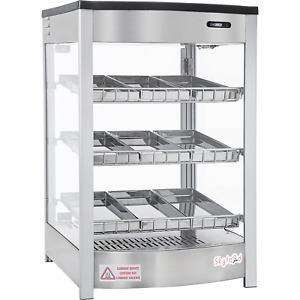 Commercial Countertop Food Warmer Display Case 19 9 Pan