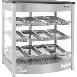 Commercial Countertop Food Warmer Display Case 26 12 Pan