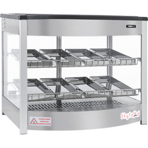 Commercial Countertop Food Warmer Display Case 26 8 Pan