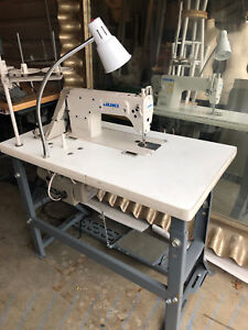 Juki Ddl 8700 Industrial Sewing Machine Used with Stand 3 4 Hp Servo Motor