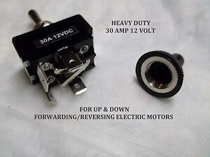 Sears Toggle Switch 14 6 St 16 6 18 6 Gt 19 9 Electric Three Point Up Down