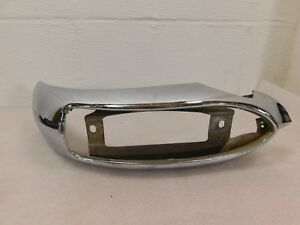 1954 Pontiac Chieftain Park Lamp Turn Signal Blinker Light Housing Chrome Rh