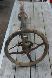Ford Model T Steering Column With Wheel