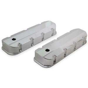 Mr Gasket 6830g Fabricated Aluminum Valve Covers Bbc Silver