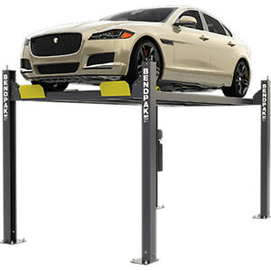 Bendpak 5175120 Four Post Vehicle Lift 7 000 Lbs Wide