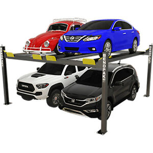 Bendpak 5175023 Four Post Vehicle Lift 9 000 Lbs Dual Platform