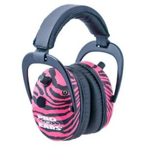 Gsp300pz Predator Gold Ear Muffsspecifications Electronic Color Pink Zebra