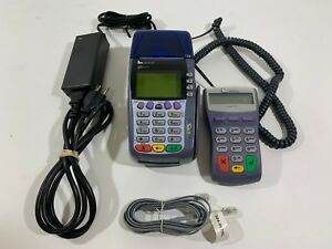 Verifone Omni 3750 Credit Card Payment Processor W Verifone Pinpad 1000se Bundle