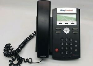 Ring Central Polycom Ip 335 Soundpoint Voip Telephone With Power Cord