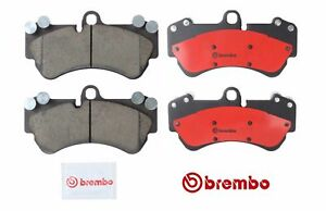 For Porsche Cayenne Volkswagen Touareg 2004 10 Front Disc Brake Pads Brembo