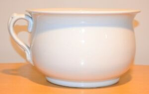 Antique Alfred Meakin English Ironstone China Chamber Pot White