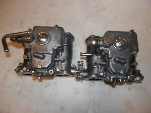 Alfa Romeo 1750 2000 Weber 40 Dcoe 32 Side Draft Carburetors