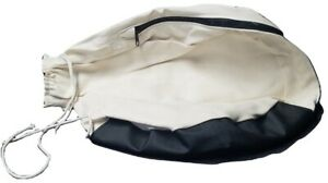 Edger Dust Bag Vinyl Bottom W Zipper For Clarke S7r B2 Silverline Sl 7