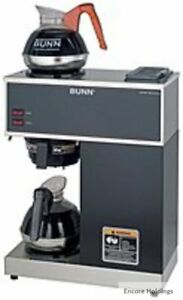Bunn 33200 0002 12 cup Pourover Commercial Coffee Brewer Black