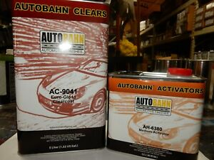 Ac 9041 Euro Gloss Autobahn 7 5 Liter Kit 2 1 Comparable To All Kandy Clear Coat