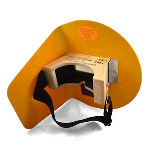 The Original Pancake Welding Hood W Strap Right Handed