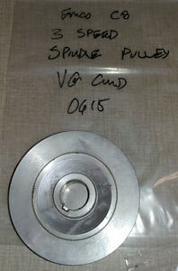 Emco Compact 8 Lathe 3 Speed Spindle Pulley 0615