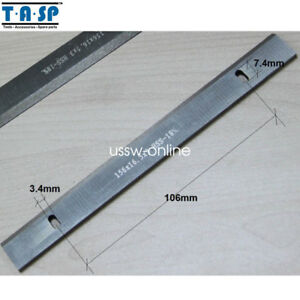 5pair Hss 6 Thickness Planer Blades 156x16 3x3mm For Woodworking Power Tools