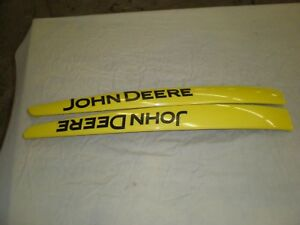 John Deere X Series Hood Side Emblems