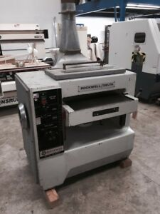 Reduced Used Rockwell delta 24 Planer Model 22 503