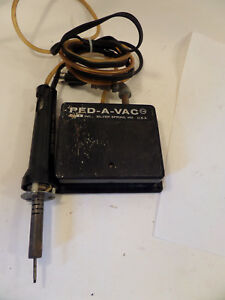 Pace Sodr x tractor Desolder Solder Handpiece With Pneumatic Vacuum Foot Pedal