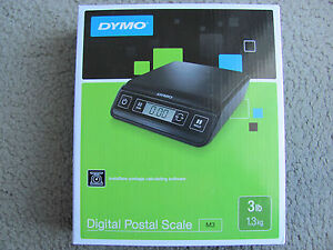 Brand New Dymo M3 Digital Postal Scale Up To 3 Lbs 1772055