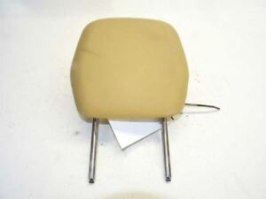 14 Porsche Cayenne 92a 958 Rear Left Seat Head Rest Leather Tan