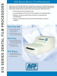 Dent x 810 Automatic Dental X ray Film Processor Brand New