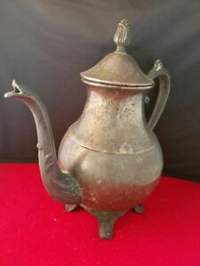 Antique Vintage Fb Rogers Silver Co Tea Pot Coffee Decor Service Ware 9 5 H