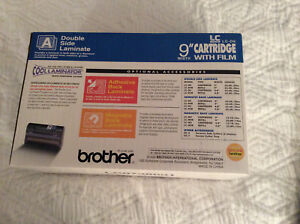 Genuine Brother Lc d9 Cool Laminator Refill Cartridge Roll 9 Wide Double Side