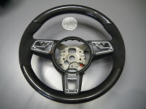 Porsche 911 Macan Cayenne 991 Rs Cayman 958 Gt Carbon Heated Oem Steering Wheel