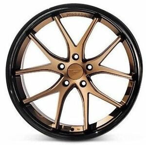 22 Ferrada Fr2 Matte Bronze Concave Wheels Rims Fits Dodge Charger Rt Se Srt8