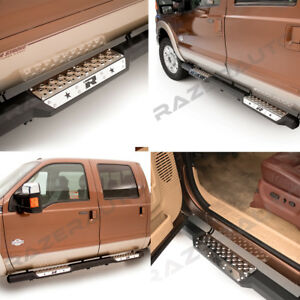 10 18 Ram 2500 3500 Truck Crew Cab 6 Step Steel Running Board Side Nerf Bar