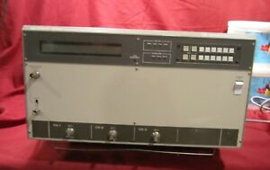 N f Electronic Instruments 5060a Frequency Response Analyzer Model 350 System