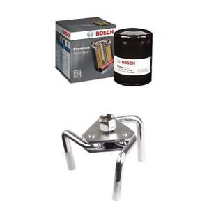 Bosch 3323 Premium Oil Filter With Otc Oil Filter Wrench