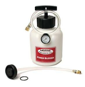 Motive Products 0107 Power Pressure Brake And Clutch Bleeder For Ford
