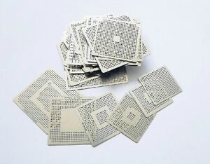 Ps3 xbox360 wii Chips Rework Set Bga 11pcs Directly Heated Stencils sn t