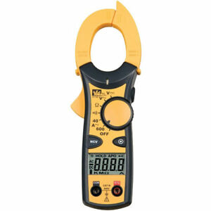 Ideal 61 744 Clamp pro Meter 600 Amp Includes Carrying Case test Leads