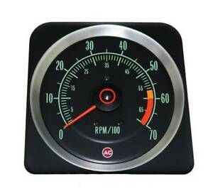 1969 Camaro Z28 Early Ss 396 375hp 7000 Rpm Tachometer Gm Licensed