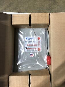 Eaton Cutler Hammer Safety Switch Dh361fdk 30a 3 Pole 600v Disconnect