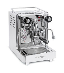 Quick Mill 0980 Andreja Premium Evo Espresso Cappuccino Machine Coffee Maker